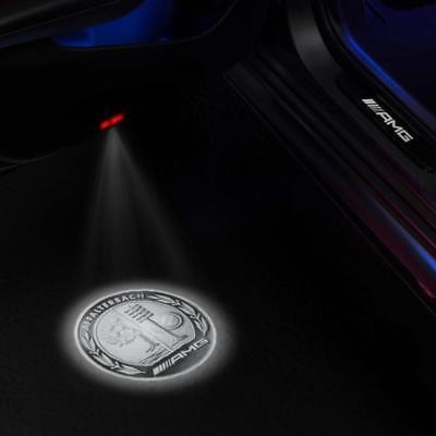 Original AMG LED Projektor Wappen Türbeleuchtung Mercedes-Benz NEU