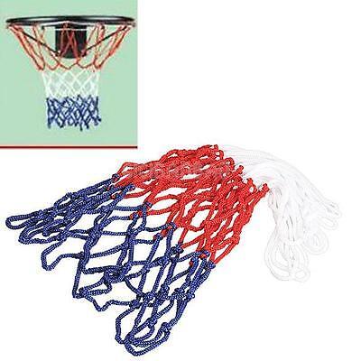 Red White Blue Basketball Net 5mm Nylon Hoop Goal Rim  Mesh Net High Quality New
