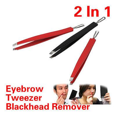 New Stainless Steel High-Quantity Eyebrow Tweezers Remover Blackhead Whitehead
