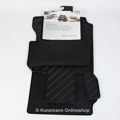 Original Mercedes-Benz Gummimatten Fußmatten C-Klasse W204 S204 schwarz NEU