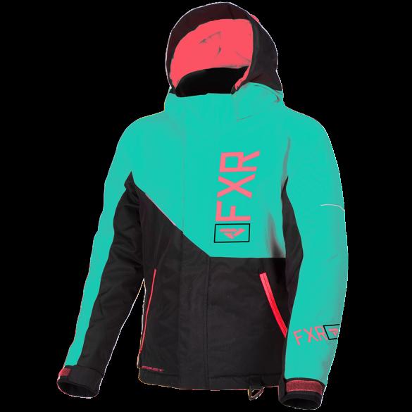 2019 FXR Youth Kids Girls FRESH Sledding SNOW JACKET COAT PARKA - Size 2 - 4 -6