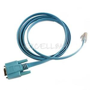 Cisco Serial Of Console Cable Router DB9 To RJ45 New E0Xc