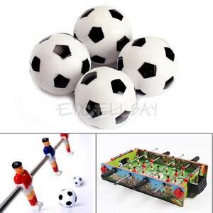 New-4pcs-32mm-Plastic-Soccer-Table-Foosball-Ball-Football-Fussball-E0Xc