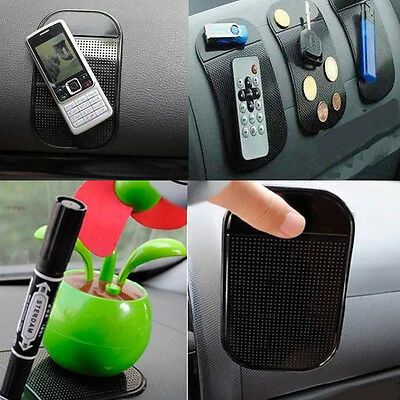 Anti/Non Slip Car Dashboard Sticky Mat Pad For Cell Phone Mobile Key GPS Holder