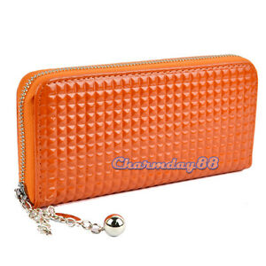 C1MY Popular new Colorful Clutch Case Lady Long Handbag Wallet Purse Women Zip