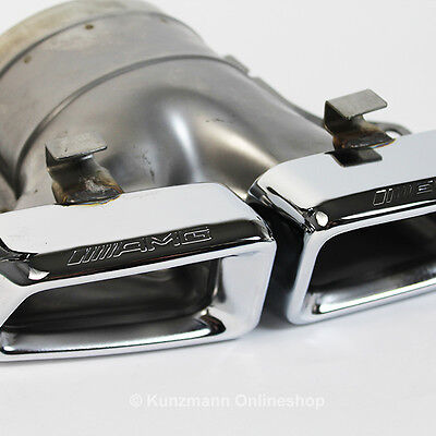 Original AMG Endrohre ML63 W166 E63 W212 S63 W221 CL63 C216 CLS63 C218 NEU