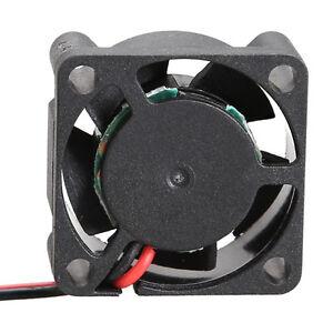 5V Cooler Brushless Micro DC Fan 25*10mm Mini Cooling Computer Laptop Fan Black