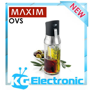 Maxim OVS Oil & Vinegar 2 in 1 Spray Sprayer Plastic Bottle Dual Container
