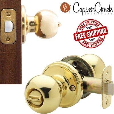Lock Handle For Wood Door Locking Switch Ball Knobs For Bathroom Privacy Toilet Door Lock Switch Handle