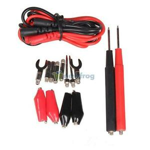 SN9F 1 Set Multifunction Digital Multimeter Probe Test Lead Cable Alligator Clip