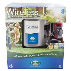 looking for the wireless pet fence