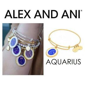 NEW ALEX AND ANI AQUARIUS BRACELET - 102954044 - JEWELLERY - JEWELRY - CELESTIAL WHEEL CHARM BANGLE - SHINY GOLD