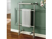 Traditional English Devon Cast Iron Bathroom Radiator -ref 9281