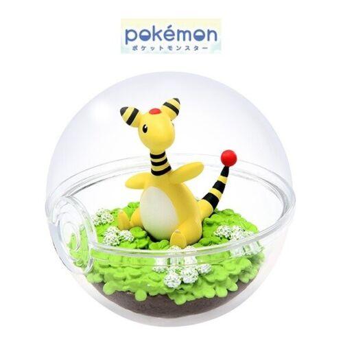 RE-MENT Pokemon Terrarium Collection 5 Poke Ball Case Figure Ampharos Denryu NEW