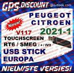 Navigatie Update 2021-1 RT6 USB Citroen Peugeot eMyWay SMEG