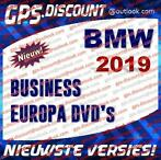 BMW 2019 Navigatie Update Europa DVD's RoadMap Business 2019