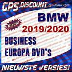 BMW Navigatie Update Europa DVD's RoadMap Business 2019/2020