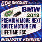 BMW 2019 USB Navigatie Update Lifetime FSC PREMIUM NEXT MOVE