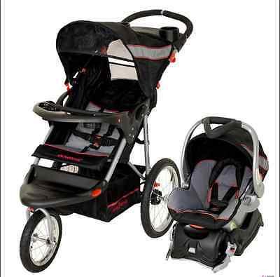 Lightweight Baby Stroller Jogging Travel System Car Seat Com