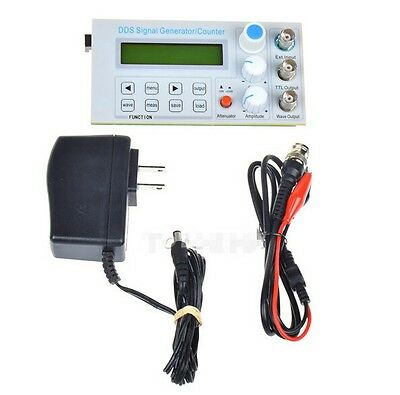 10mhz Dds Function Signal Generator Sinesquare Wave Sweep Frequency Meter Ttl