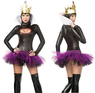 Evil Sorceress Maleficent Snow White Fairy Tale Queen Witch Sexy Womens Medium