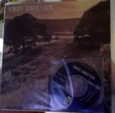"Kris Drever beads and feathers vinyl 7"" &  3"" cd"