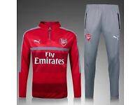 2016-17 New Arsenal winter tracksuit tracksuits