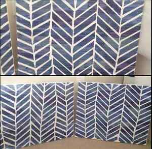 Hand painted Abstract Painting Set (2 Canvases)