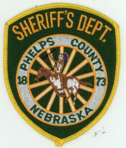 PHELPS COUNTY SHERIFF NEBRASKA NE COLORFUL PATCH POLICE