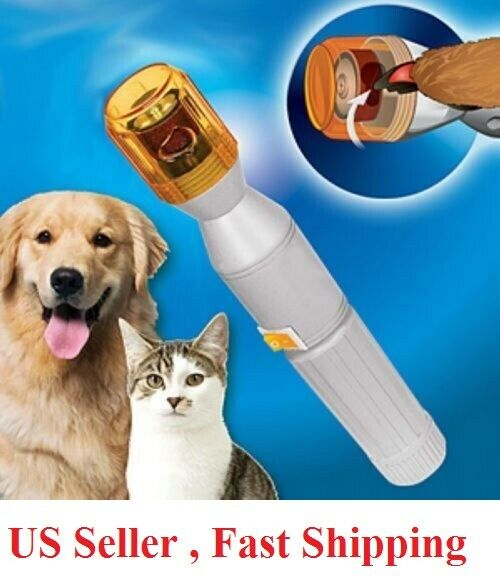 Professional Pet Dog Cat Nail Trimmer Grooming Tool Grinder Electric Clipper Dog Supplies