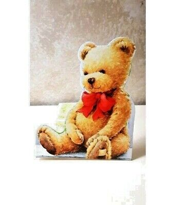 Teddy Bear Party Invitations and Envelopes 8ct Baby Shower 1st Birthday (Teddy Bear Baby Shower Invitations)