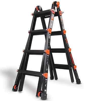 17 1a Little Giant Ladder - Pro Series W Platform Wheels 10102bp