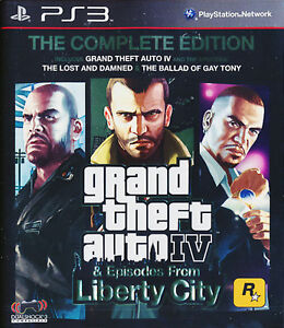 GRAND THEFT AUTO IV GTA 4 THE COMPLETE EDITION PS3 GAME BRAND NEW