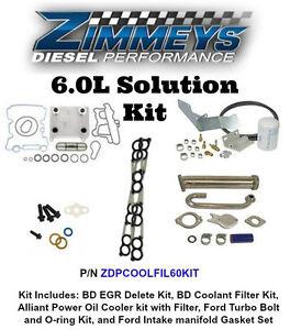 Ford 6 0 Bulletproof Cooling Solution Kit Ebay