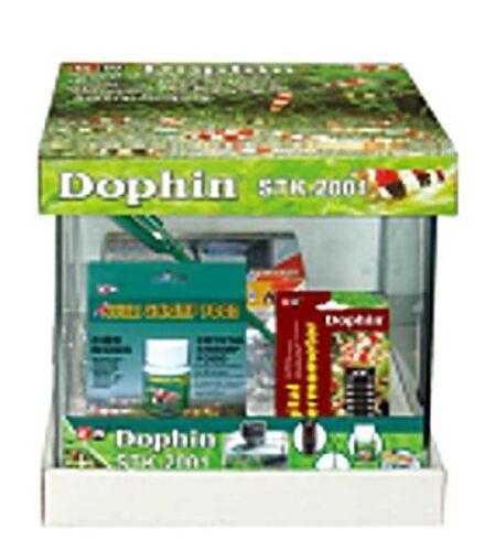 Garnelenaquarium Nanoaquarium Dophin STK2001 Set 10 Liter