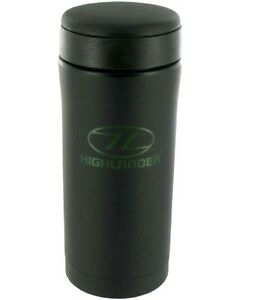 VACUUM-THERMAL-FLASK-insulated-travel-mug-camping-black-12hr-hot-drinking-cup
