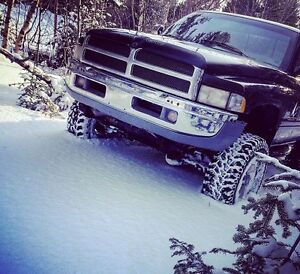 ** 1997 LIFTED DODGE RAM **