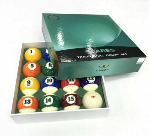 Cyclops Traditional  Pool Balls (ARES) Set