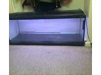 4ft Fish Tank inc Heater & LED Strobe Light