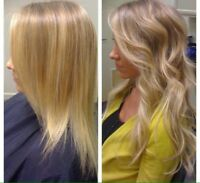 Hair extensions full head 48 hours only 1/2 price $250