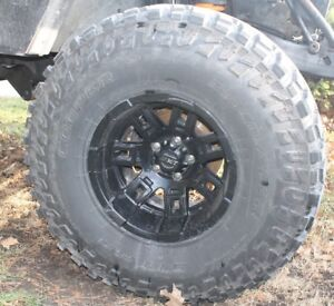 Jeep Mickey T Rims cooper 35/12.5/15 Tires 5 on 4.5 bolt