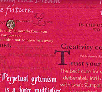 Feelings pink Art Gallery positive sayings quotations - Pink Sayings