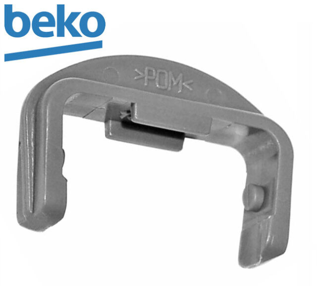 Genuine Original BEKO Dish Washer Rail Cap for Front Rail 1887460200
