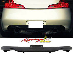 2003-2007 Infiniti G35 Coupe 2Door NS Style Rear Bumper Diffuser