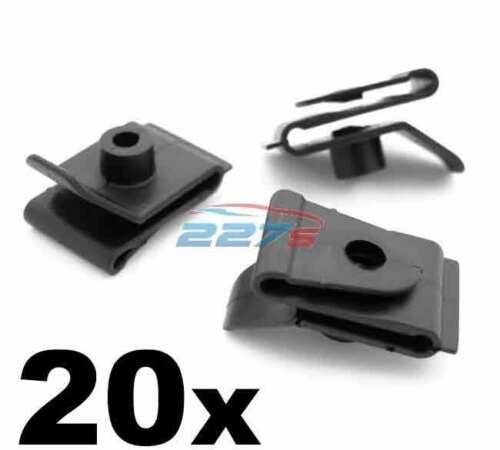 20x Wheel Arch Clips for Wheel arch Lining / Splashguard on Toyota Models