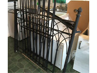Gothic strong metal bed