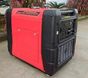 NEW SILENT GENERATOR PURE SINE WAVE INVERTER 6.8 KW PORTABLE E-START