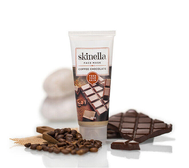 Skinella Coffee Chocolate Face Mask 50g for a hydrated and r