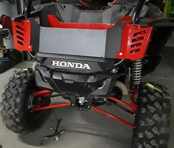 taillight covers tailgate box extender cargo Honda 1000R 1000 R 1000x  Talon