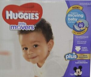 Huggies little movers - Size 3